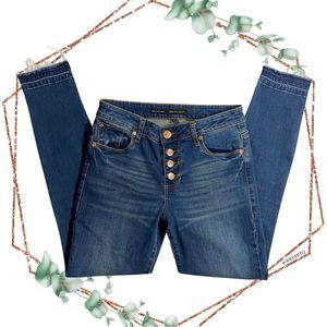 see thru soul emma ankle skinny button fly jean
